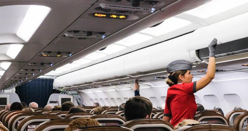 Нестандартные ситуации в салоне самолета