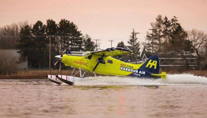Воздушное судно марки de Havilland Canada DHC-2 Beaver