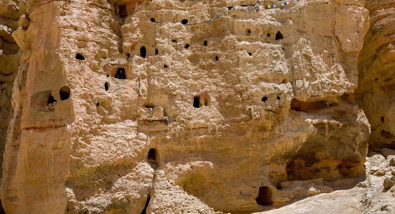 Удивительный скальный город располагается на территории бывшего королевства Мустанг