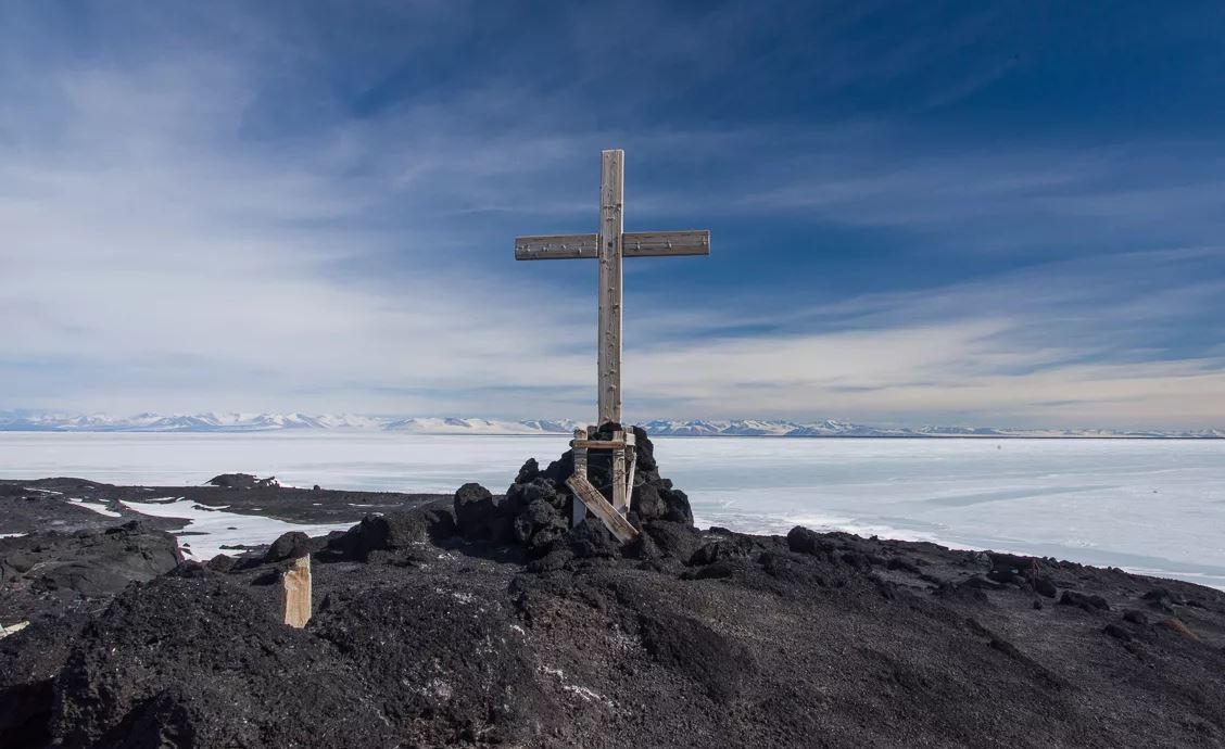 антарктика похороны