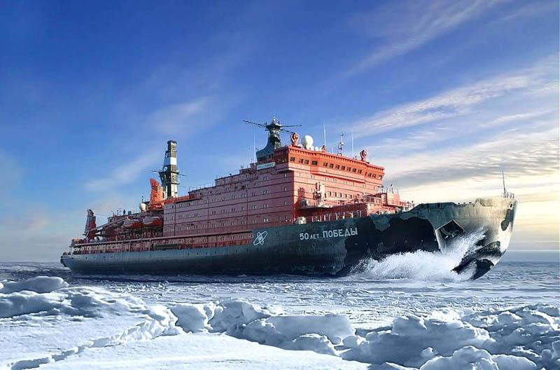 Питание моряков на атомном ледоколе