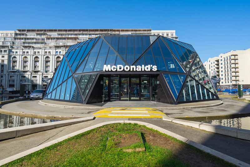 Макдональдс в столице Грузии Тбилиси