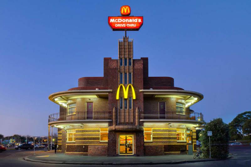 Китайский Макдональдс в Яншо