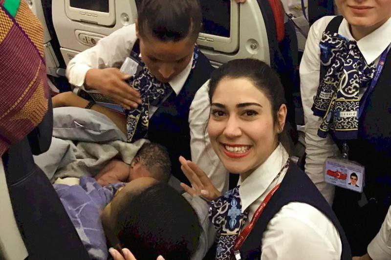Преимущества и недостатки родов в самолете
