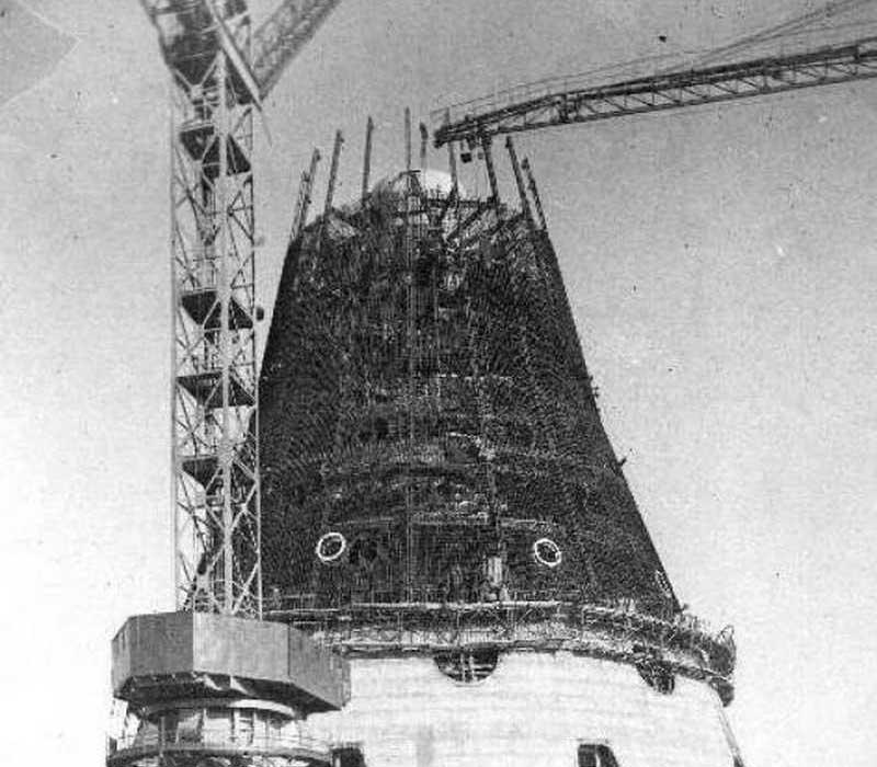 Завершение строительства и начало работы Останкинской башни