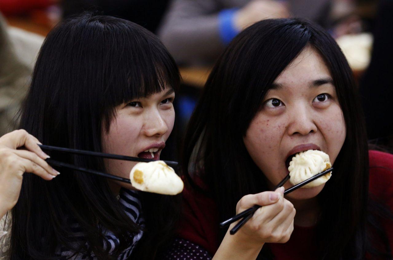 Гадания на пельменях в Китае