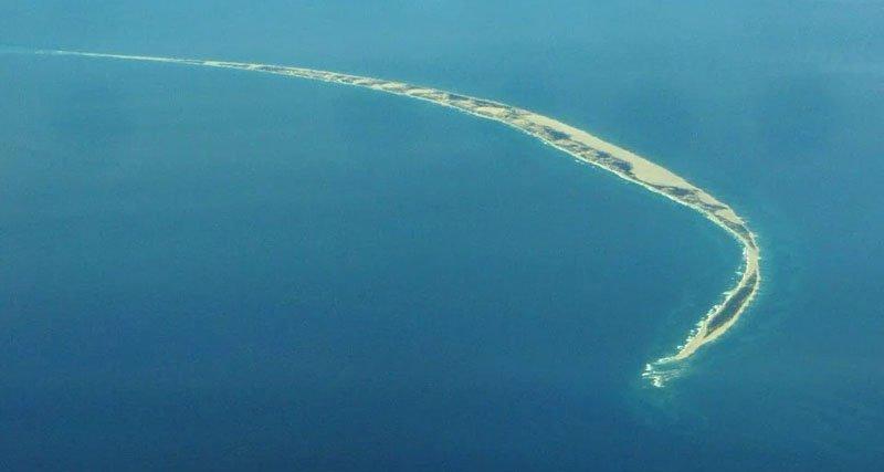 Сведения об удивительном острове Сейбл