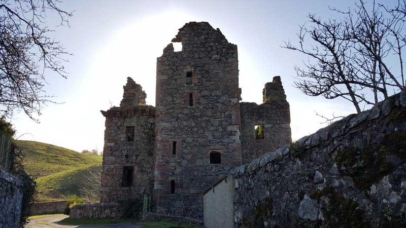 В 17 веке замок Лип стал собственностью рода Дарби