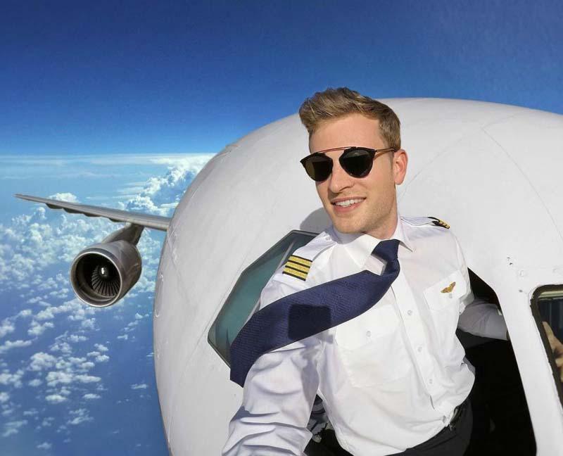 Пилотам нельзя носить бороду: в чем причина запрета