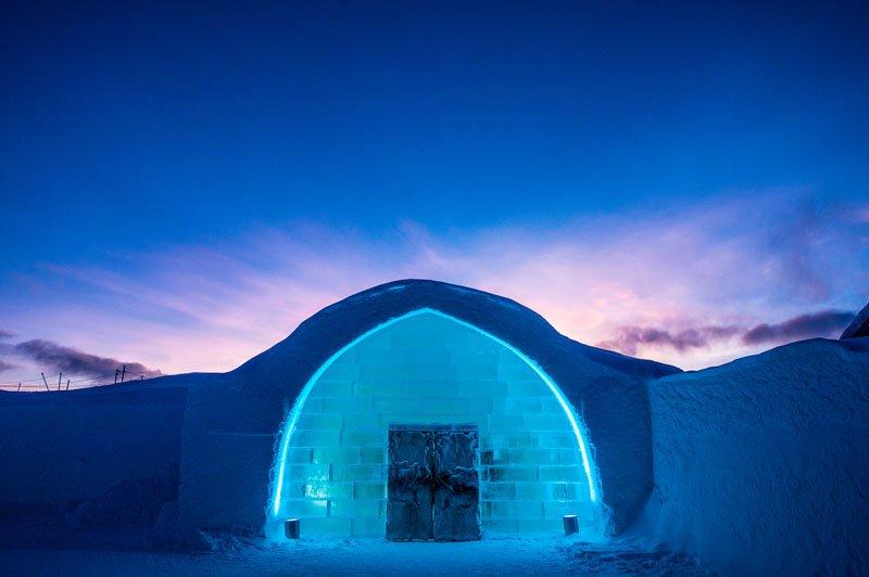 История создания ледяного дворца