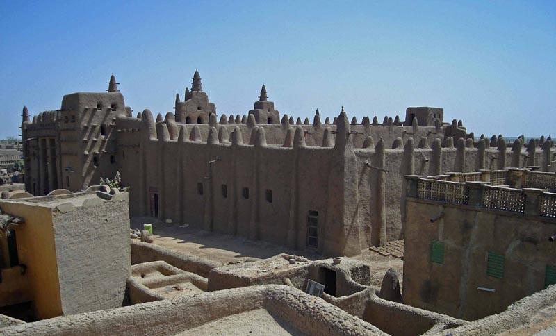 История создания мечети Город Дженне