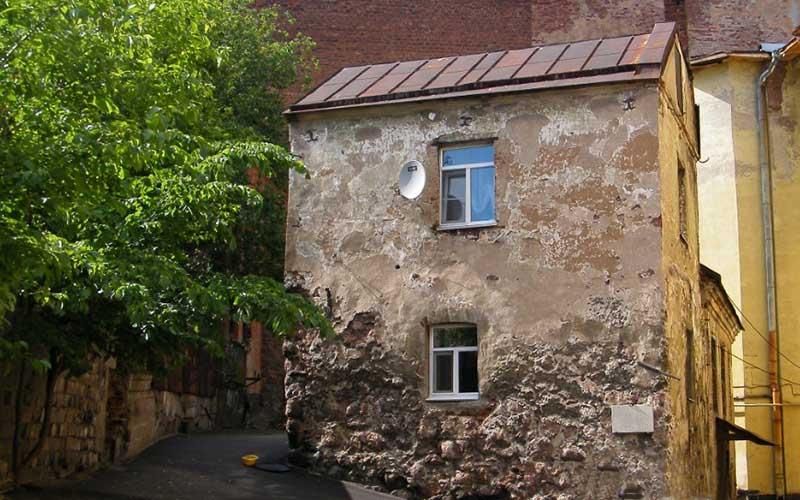 дом в городе Выборг на улице Крепостная возвели его еще в 16 веке