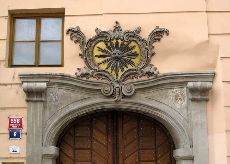 Необычная нумерация домов в Праге