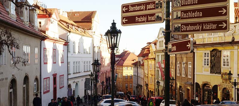 История Пражской нумерации домов
