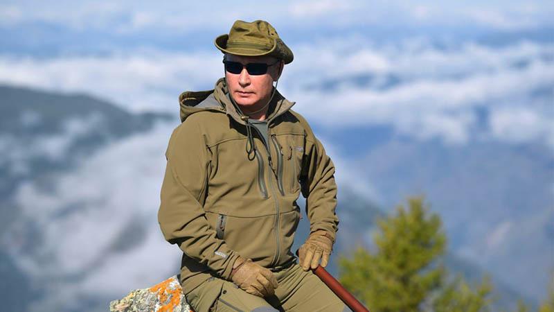 Путин Президент России не скрывает свой отдых