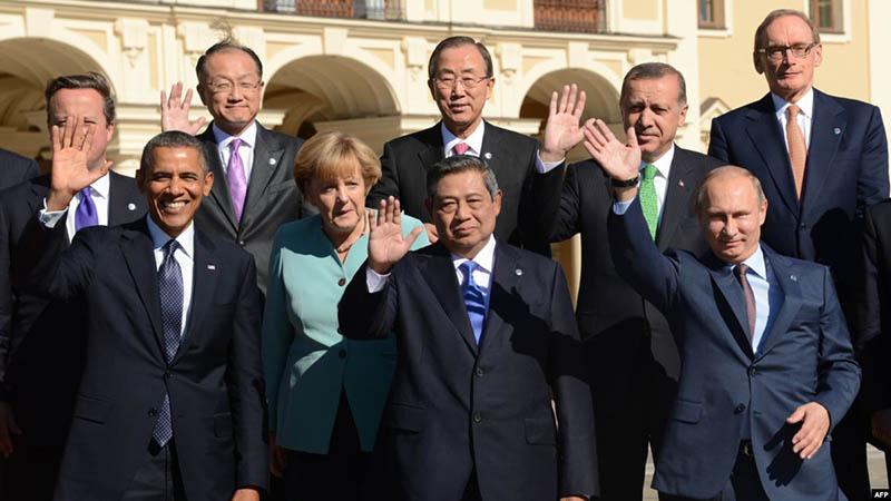 Отдых лидеров ведущих стран мира