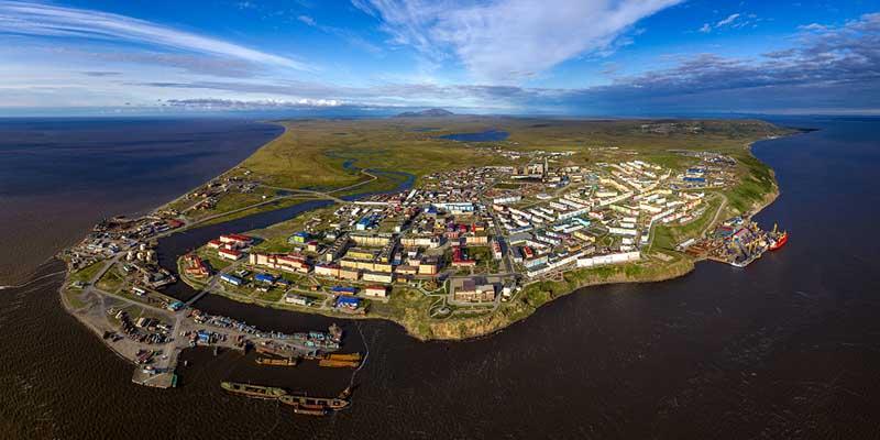 Самый восточный город России
