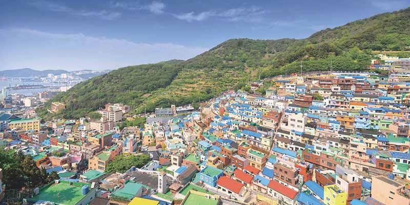 Красивейшие лунные деревни в Южной Корее