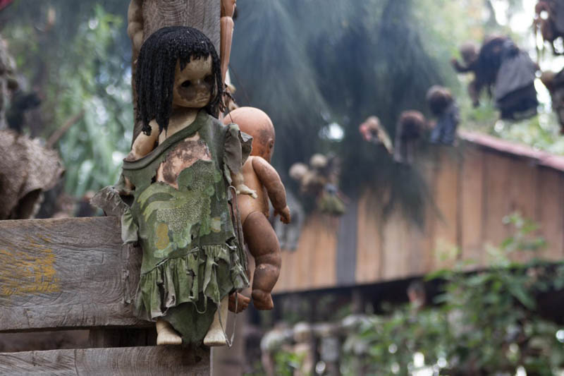 Чем может удивить туристов остров кукол в Мексике
