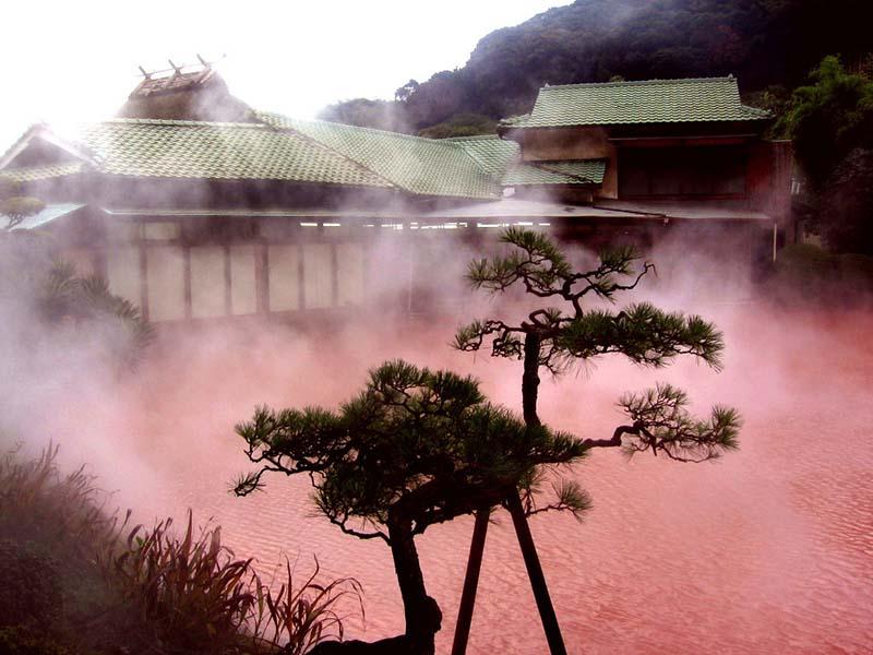«Кровавый пруд» в Японии
