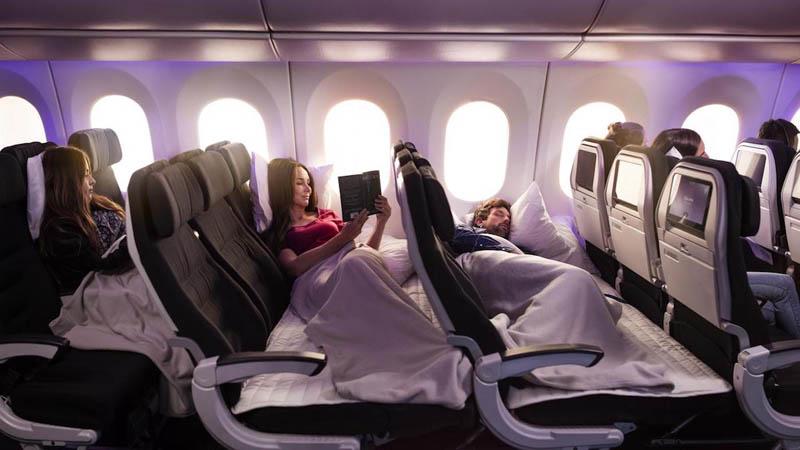 Пассажиры новозеландской авиакомпани смогут поспать лежа