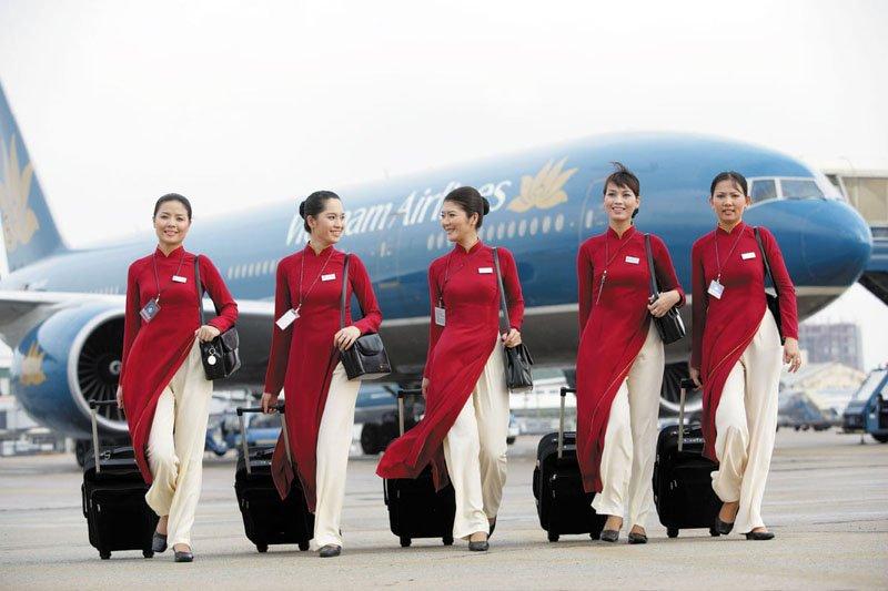 Униформа для стюардесс Вьетнам — Vietnam Airlines