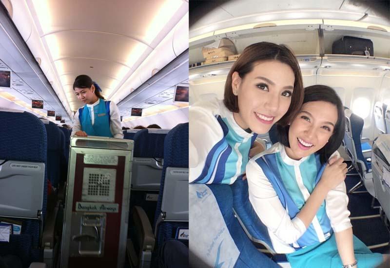 Униформа для стюардесс Таиланд — Bangkok Airways