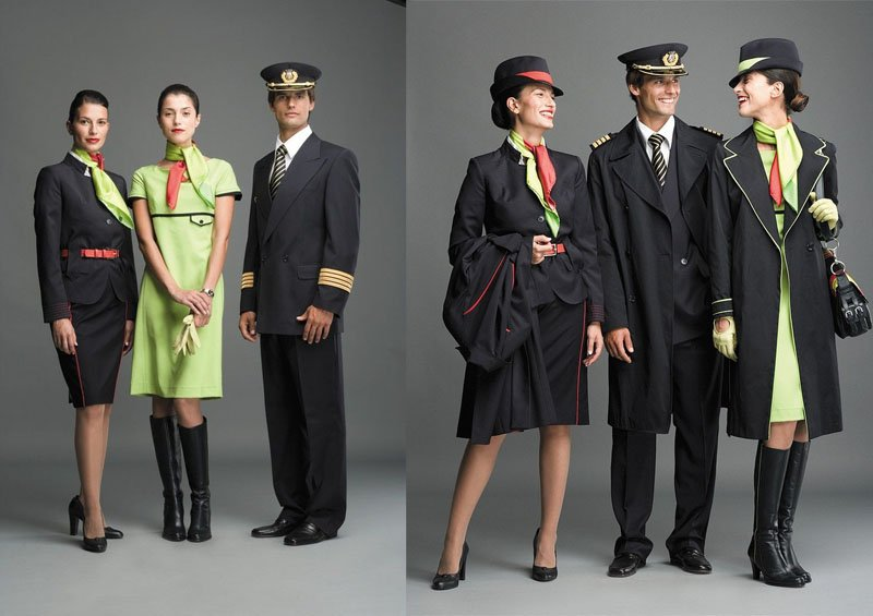 Униформа для стюардесс Португалия — TAP Portugal