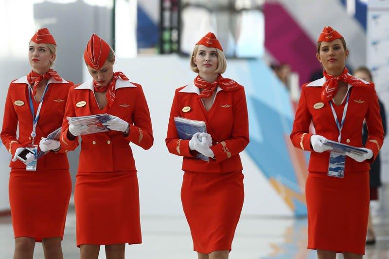 Униформа для стюардесс Россия — Аэрофлот
