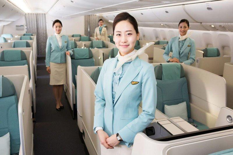 Униформа для стюардесс Южная Корея — Korean Airlines