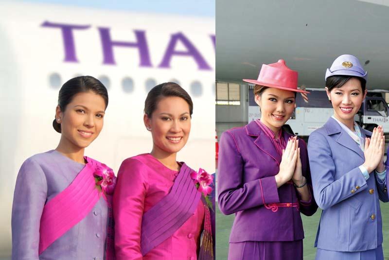 Униформа для стюардесс Таиланд — Thai Airways