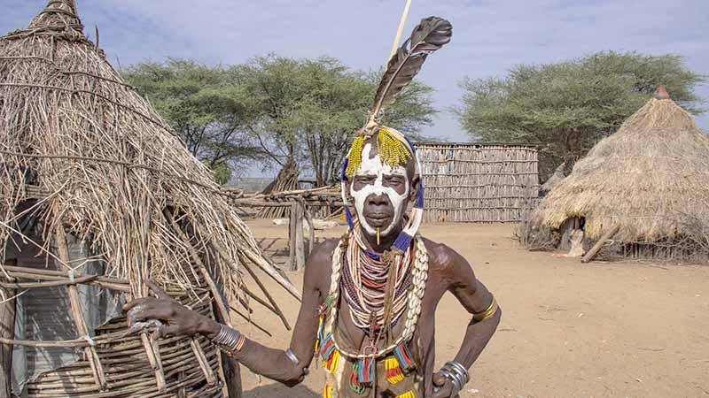 Жизнь племени каро