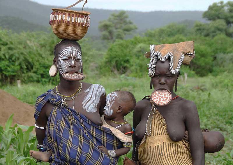 Какие еще интересные племена есть в Африке
