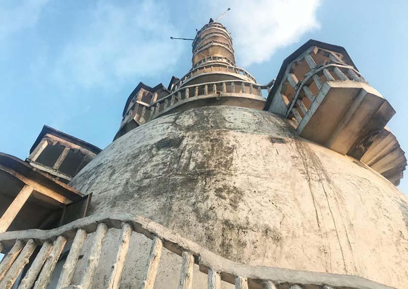 На территории Шри-Ланки возвели башню Амбулувава высотой 48 метров