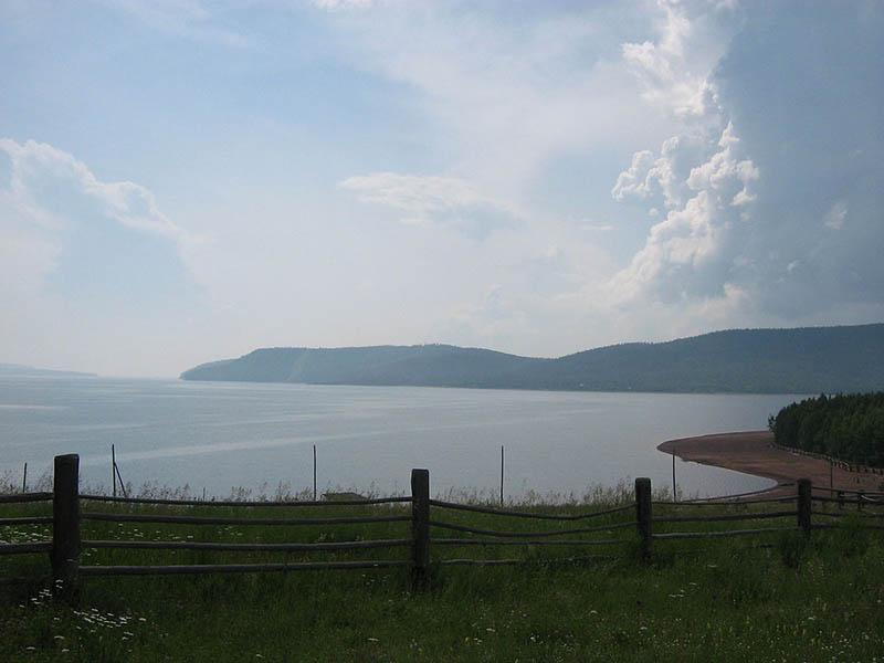 Создание Братского водохранилища произошло при возведении Братской ГЭС в 1961 году