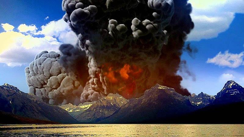 Последствия извержения Йеллоустоунского вулкана