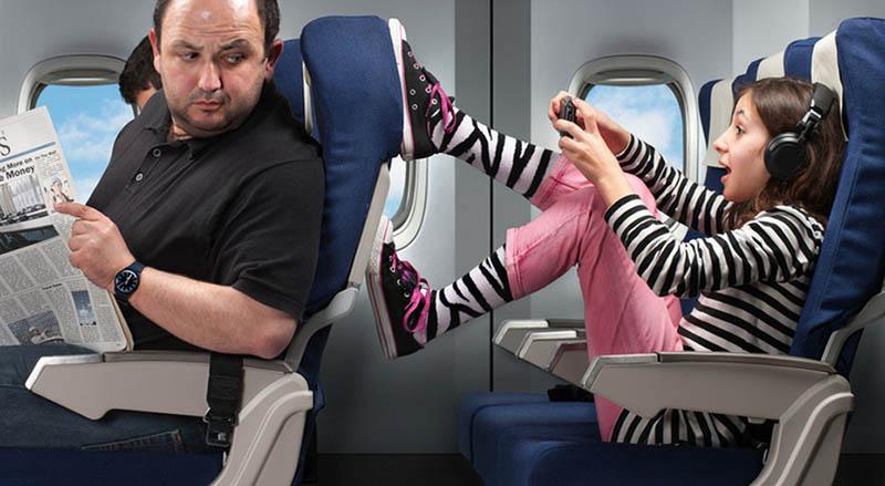 Как избежать мест рядом с семьями с детьми