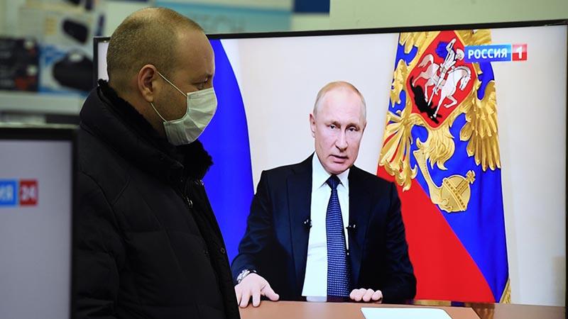 Меры, введенные Владимиром Путиным
