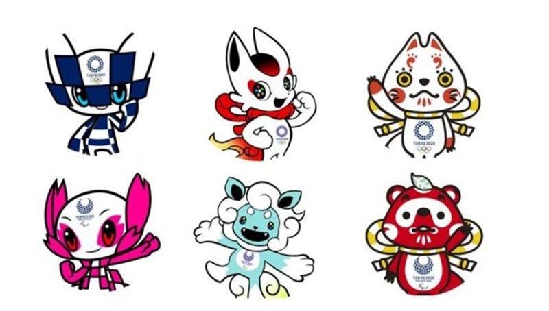 Олимпийские символы Японии