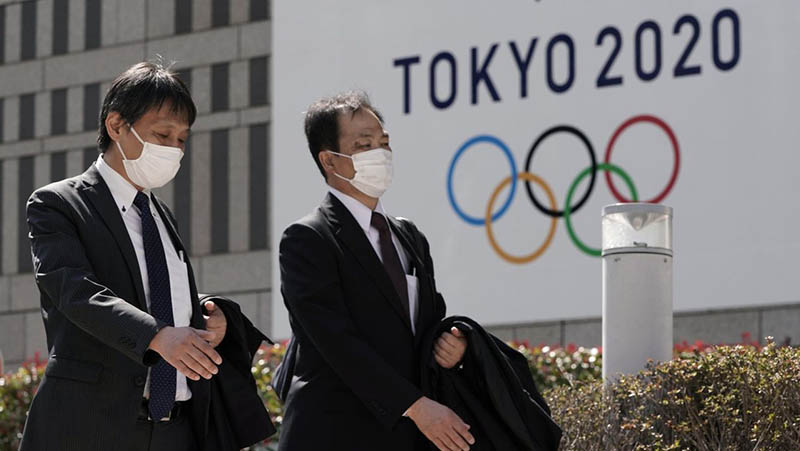 Символы Олимпиады в Токио, которая не состоится этим летом