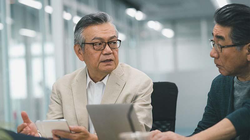 На данный момент японское население состоит на 28% из пенсионеров
