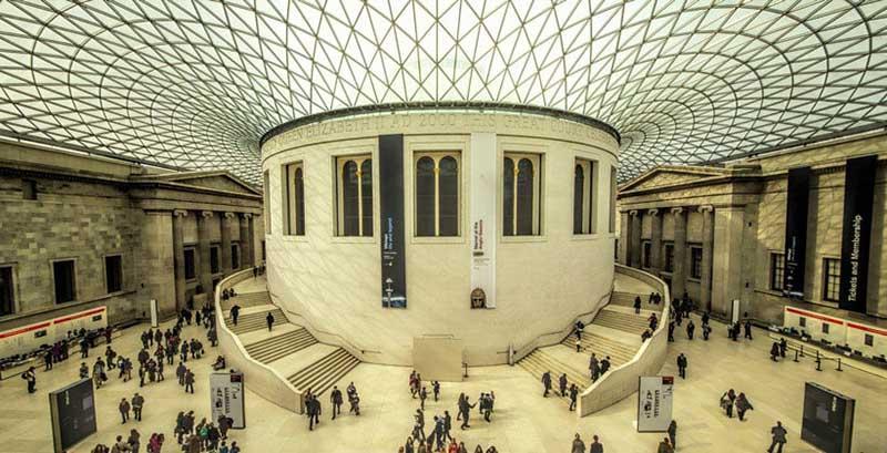 виртуально Британсий музея в Лондоне