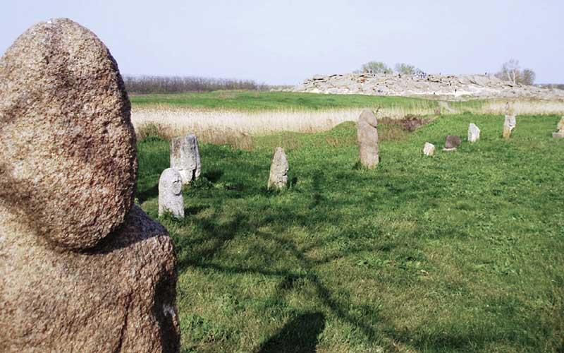 Заповедник Каменная могила в Украине