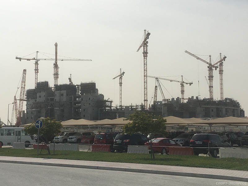 Масштабная стройка В Катаре