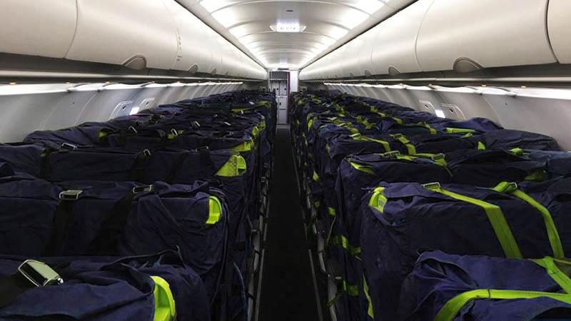 18 апреля из Пекина в Новосибирск вылетел первый самолет компании S7 Airlines