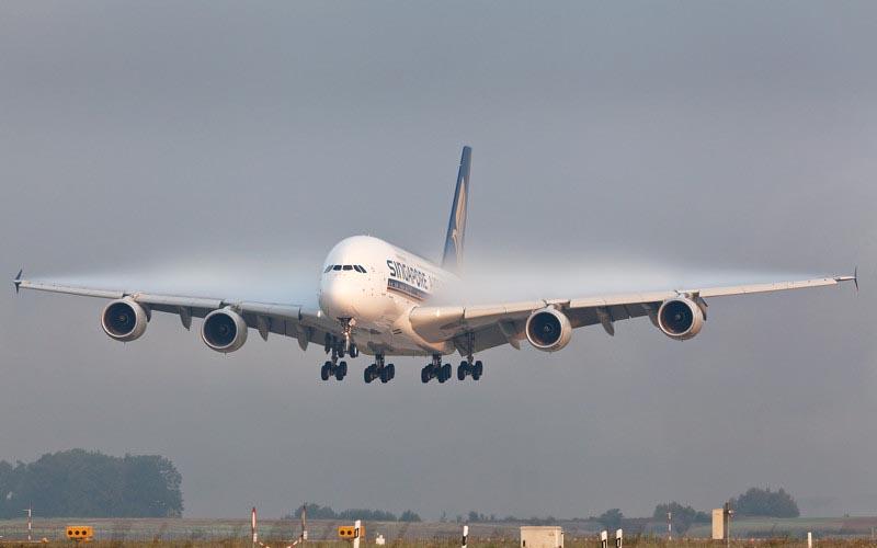Система для правильной посадки самолета