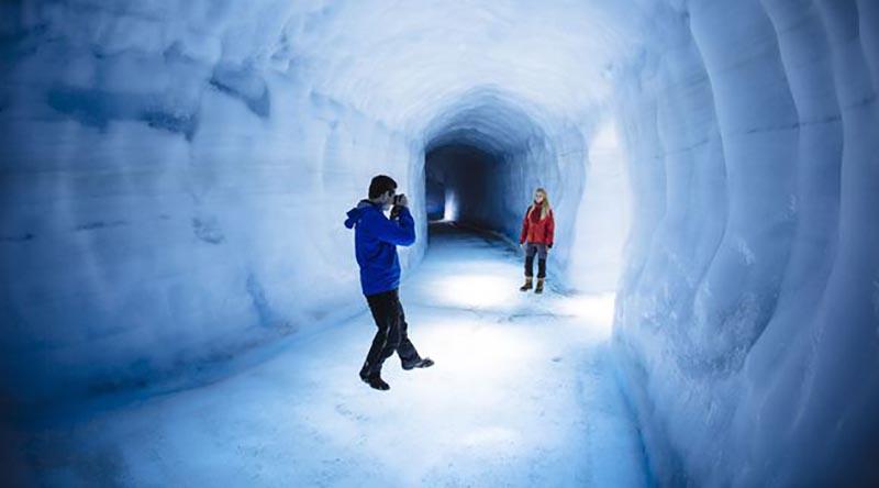 Посещение туннеля