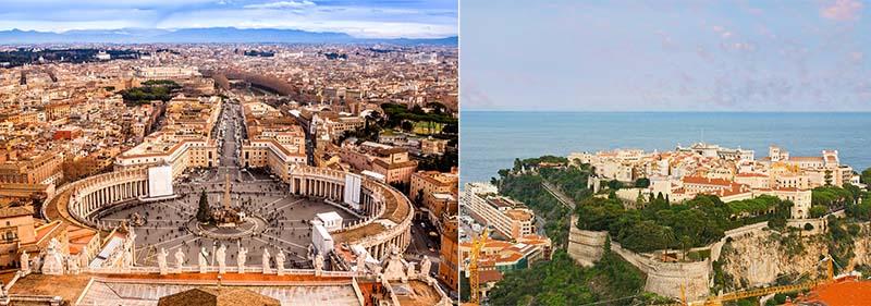 Монако и Ватикан