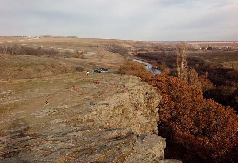 Зайцевские скалы в Ростовской области: отдых наедине с природой