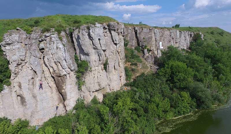 Зайцевские скалы — отличное местечко в Ростовской области